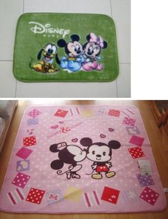 kid child Decor Disney Mickey Minnie Mouse living bed room floor Mat