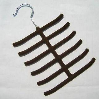 Newly listed 1x New Tie Belt Hanger Velvet Rack Organizer Hold Up To