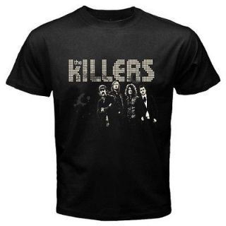 New The Killers Popular Indie Rock Band Mens Black Tee T Shirt Size S