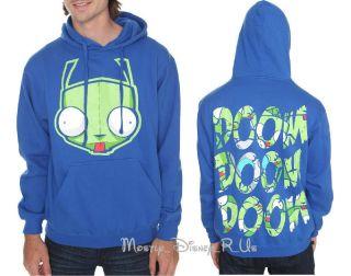 invader zim gir hoodie in Clothing,