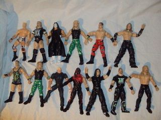 JAKKS PACIFIC TITAN TRON 1999 LOT / WCW MARVEL/ WCW TOY BIZ FIGURES