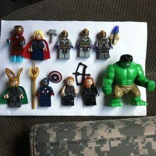 Avenger Marvel Black Weadow, Iron Man,Capt America,Thor,Hulk,+ more