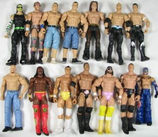 Mattel Elite Basic Jeff Hardy Zack Ryder Kofi Kingston Figure