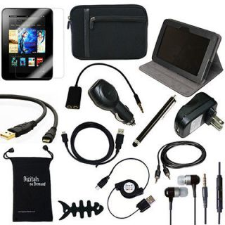 BUNDLE FOR NEW  KINDLE FIRE HD 7 INCH COVER CASE CHARGER
