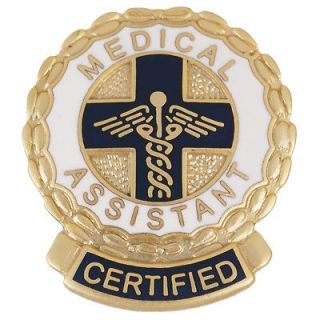 Certified Medical Assistant CMA Medical Lapel Pin New