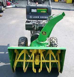 john deere snowblower in Yard, Garden & Outdoor Living