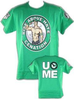 John Cena Green Mens Salute the Cenation T shirt