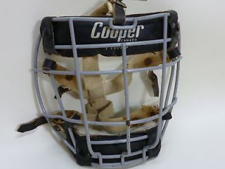 Goalie Mask Vintage 1971 first wire model