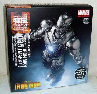 Revoltech SCI FI 036 Iron Man Mark III 3 Action Figure