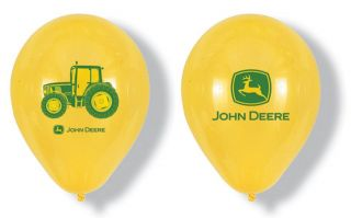 BALLOONS latex JOHN DEERE new BIRTHDAY PARTY favors 4 H CLUB farm