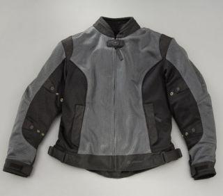 Womens Yamaha Drifter Star Jacket / Mesh Shell / Insulated