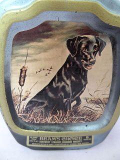 Jim Beam Beams Choice Decanter with Top   Black Labrador by James