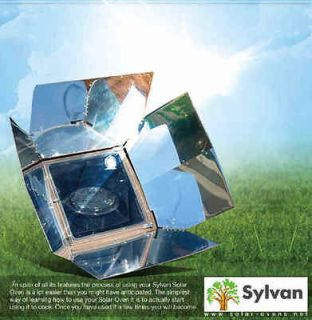SOLAR OVEN SUN POWERED COOKER STOVE PORTABLE GRILL SALE WATER HEATER