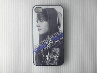 Justin Bieber Hard Case Back Cover For I phone 4 4S/16/32/64GB B