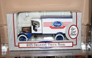 ERTL 1925 KENWORTH DELIVERY TRUCK BANK, 1993 KROGER ADVERTISING