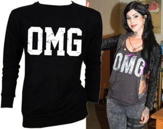 OMG Kat Von D Punk Goth Death Funky Rock Punk Hot Hit Sweater Jumper S
