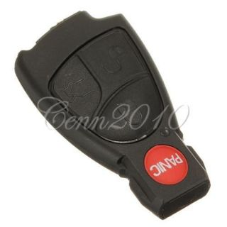 Remote Key Fob Case Cover for Mercedes Benz C E R CL CLK SL SLK Smart