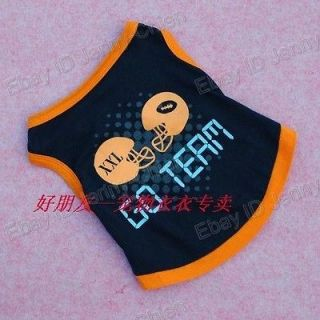 Pet dogs cat clothes pretty go term Costumes Clothes Apparel Cute T