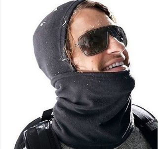 CYCLING BICYCLE THERMAL FLEECE BALACLAVA HOOD POLICE SWAT SKI MASK
