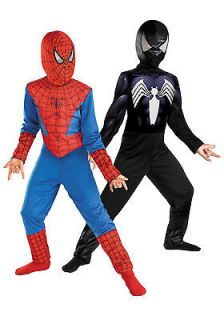 Kids Reversible Spiderman Costume   Boys Halloween Costume