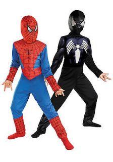 Kids Reversible Spiderman Costume   Boys Halloween Costume