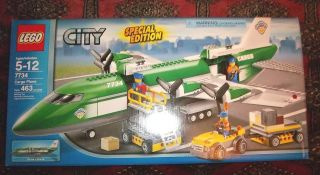 LEGO CITY   7734 CARGO PLANE RARE NEW IN BOX SPECIAL EDITION