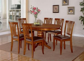 5PC PICASSO DINETTE KITCHEN DINING SET TABLE & 4 FAUX LEATHER CHAIRS