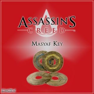 Assassins Creed Masyaf Key replica Altair Ezio Revelations