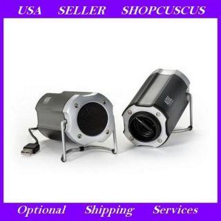 Altec Lansing Technologies IML247 2 In 1 USB Stereo Speakers LED Power