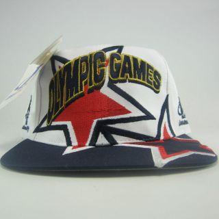 VTG USA Olympics America 1996 Atlanta Dream Team Trials Track Snapback