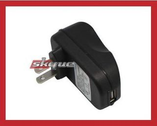 Wall Home Charger Black Adapter (USB Plug) for  Kindle Fire HD