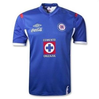 CRUZ AZUL UMBRO JERSEY HOME YOUTH SIZES JERSE 2012