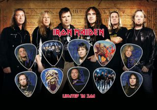 Iron Maiden Guitar Pick Set Display LIMITED EDITION