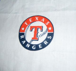 TEXAS RANGERS BASEBALL PLAYOFF FABRIC QUILT BLOCKS 1