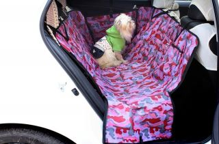 Car Back Seat Cover Pet Mat Blanket Hammock Cushion Protector LG Size
