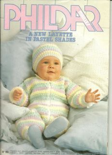 Phildar Baby Knitting Pattern Books : BABY KNITTING PATTERNS Hoody~Pants~Sweaters~Dresses~Toy~Hats++ Boy