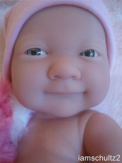 La Newborn Precious Lifelike Smiley Berenguer Newborn Baby Doll