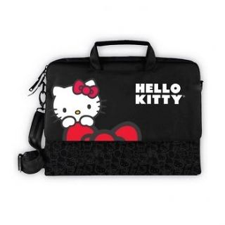 HELLO KITTY NOTEBOOK LAPTOP COMPUTER PADDED CASE BAG w/ SHOULDER STRAP