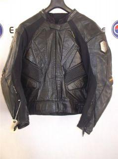 Wolf Titanium Kangaroo Leather Motorcycle Jacket EU 58 UK 48
