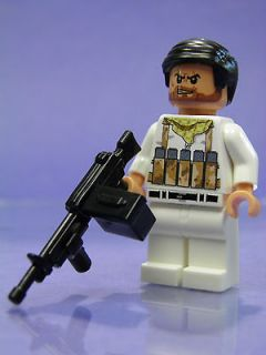 Custom Lego Minifig Soldier of Duty Desert Military Call of War Black