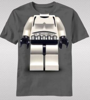 NEW Lego Star Wars Storm Trooper Body Suit Logo Video Game Youth T