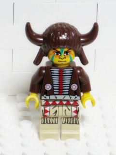 LEGO Western Indian Medicine Man Minifigure 6748 6766 6718 / Wild West