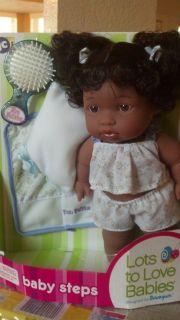 10 Lots to Love Baby Steps African American Doll Baby Felisha