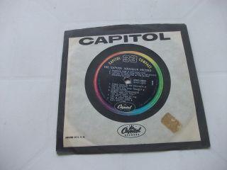 Beales Sourvenir record rare USA Promo Ep Capiol Records 1964 VG