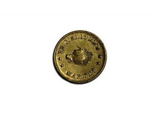 1863 PH. J. Seiters Market Civil War Store Card Token NY CH AU UNC