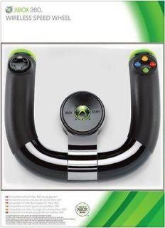 Genuine Microsoft Xbox 360 Wireless Speed Steering Wheel (100% Brand