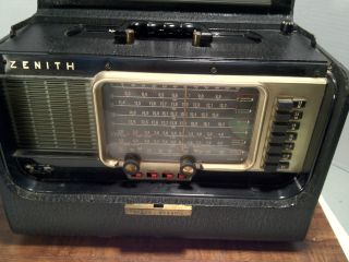 Zenith Trans Oceanic Short Wave and AM Radio, Wave Magnet, L600, Mid