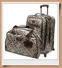 KATHY VAN ZEELAND Crown Pebble 2pc Carry Luggage Set