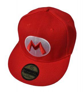 NEW Underground Kulture Red Super Mario Snapback Baseball Cap