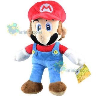 Nintendo Super Mario Bros 12 Red Mario Soft Plush Figure Doll Toy #D